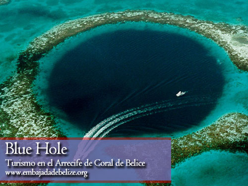 Blue Hole, turismo en Belice