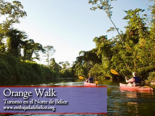 Turismo en Orange Walk, Belice