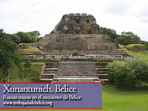 Xunantunich, ruinas mayas en el occidente de Belice